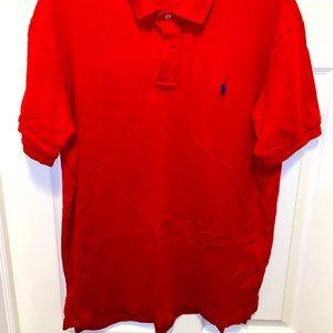 Red/Blue Ralph Lauren Polo Shirt